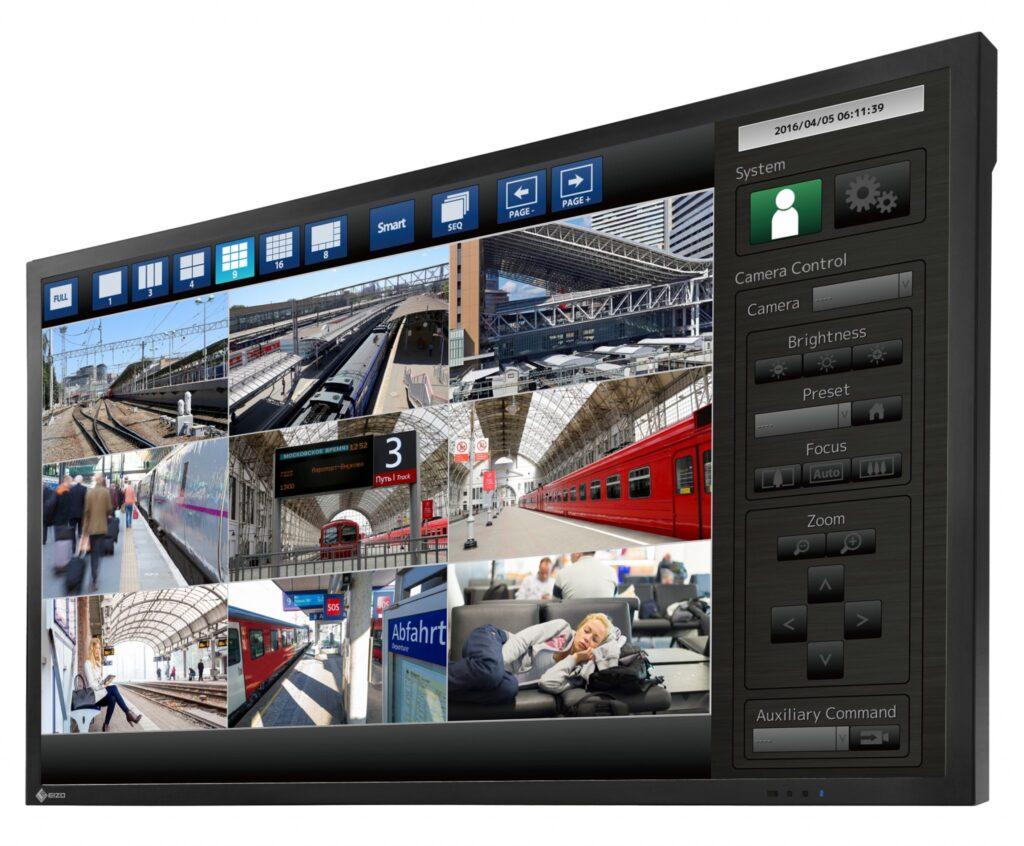 monitor przemysłowy